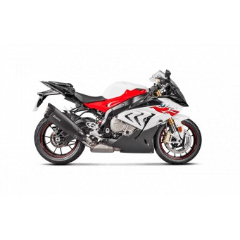AKRAPOVIC Slip-on titanio negro-carbono