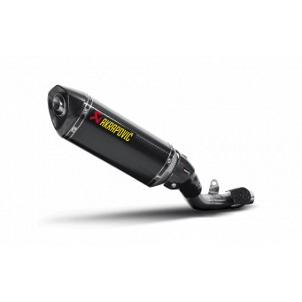 AKRAPOVIC Slip-on carbono-carbono