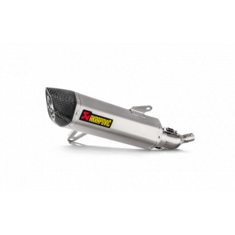 AKRAPOVIC Slip-on inox-carbono