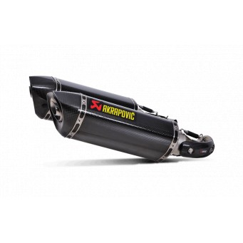 AKRAPOVIC 2 Slip-on carbono-carbono