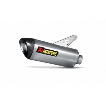 AKRAPOVIC Slip-on titanio-carbono